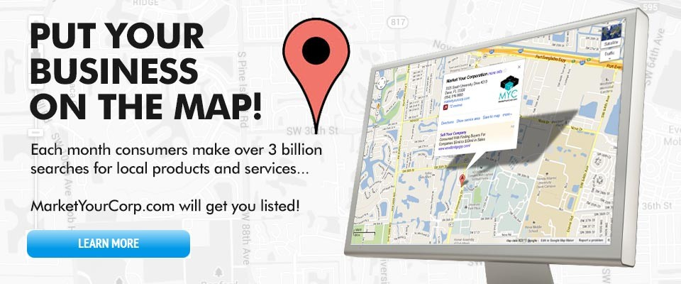 Get your local business on the map!