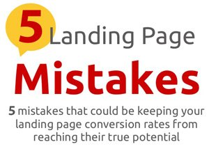 How To Avoid Five Common Landing Page Mistakes
